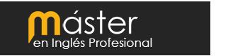 Máster en Inglés Profesional